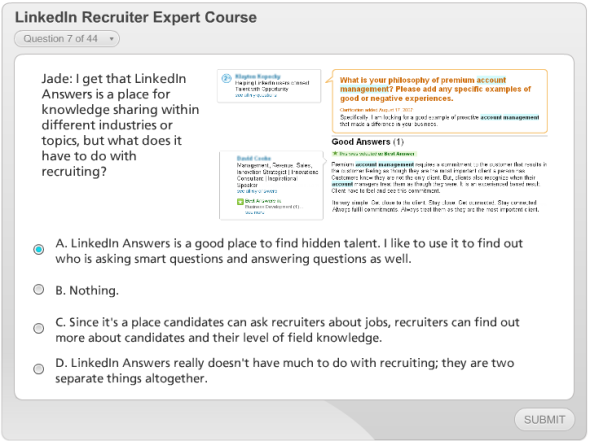 EVEN More references to LinkedIn Answers which no longer exists